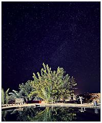 Shoot for the stars... (Mohamed Essa) Tags: siwa oasis egypt desert longexposure stars sky travel travelphotography thisisegypt nightshooting night