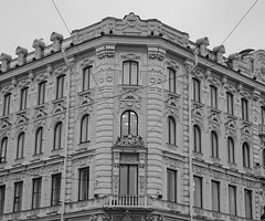 Old building in St. Petersburg, Russia (phuong.sg@gmail.com) Tags: 20th antique apartment architecture brick building century closeup crack crumble day different dirty downpipe downspout drain exterior facade frame front fronton gable grate group historic horizontal iron ledge nobody old ornamental outdoors pattern pediment petersburg plaster platband red row russia saint several structure symmetry texture urban wall window wrought