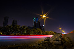 KAFD, Such a prime location III Oct-7-16 (Bader Alotaby) Tags: nikon d7100 riyadh skyscraper skyline cityscape nightscape ruh photography ksa gcc art architecture leed kafd sunset blue hour amazing 18200 1116 sigma samyang 8mm tokina supertall megatall cma hok kkia dxb dubai uae doh doha qatar bahrain manamah burj khalifah downtown city center modern rafal kempinski hotel flamingo sculpture chicago illinois usa travel summer loop central cta ord ny jfk kfnl kapsarc