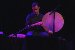 Parissa (2016) 06 (KM's Live Music shots) Tags: worldmusic iran traditionalpersianmusic parissa dafpersian handpercussion framedrum drums transcenderfestival barbican