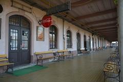station Zalaegerszeg heeft geen spitsuur (snoeziesterre) Tags: reizen treinreizen nvbs sne 2016 hongarije sloveni oostenrijk treinen trains traintravels traveling zalaegerszeg station
