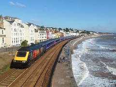 43172 Dawlish (4) (Marky7890) Tags: gwr 43172 class43 hst 1a82 dawlish railway station devon train