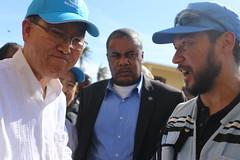 UNSG and JP (OCHAHaiti) Tags: haiti hurricane matthew ocha wfp un united nations