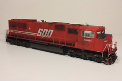 SOO 6061 FR (Set and Centered) Tags: railroad chicago scale electric train prime model 2000 power diesel dcc engine railway tsunami leslie locomotive motive ho custom soo corp 187 services mover 710 proto p2k railroading emd sd60m 6061 cmps soundtraxx rs3l tsu1000