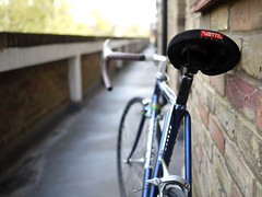 (holloway steve) Tags: london bicycle wheels panasonic 1992 20mm holloway saddle wolber vetta gf1 autaut holdsworthprofesional