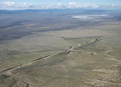 Aerial view of the San Andreas Fault, Carrizo Plain, San Luis Obispo County, California (cocoi_m) Tags: california nature sanandreasfault fault geology sanandreas sodalake sanluisobispocounty geomorphology aerialphotograph carrizoplain