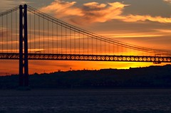Sunset Bridge - Explored (Paulo N. Silva) Tags: