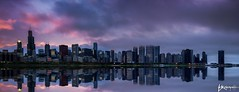 Alright (Brian Koprowski) Tags: county city sunset sky lake chicago weather fog skyline night skyscraper photoshop evening illinois cook windy panoramic lakemichigan lakeshoredrive win lakefront adlerplanetarium photomatix willistower pentaxk5 briankoprowski bkoprowski