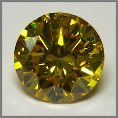 Natural Fancy intense Yellow Diamond, GGL round, N15-73/5, 0.35 ct () Tags: diamond brilliant ggl naturalcolor roundbrilliant yellowdiamond fancycolordiamond naturaldiamond typeia naturalfancycolordiamond