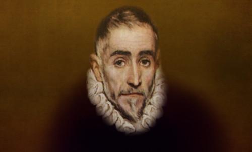 """Hidalgo Ibérico, expresión de Doménikus Theokópoulos el Greco (1597), transcripción de Pablo Picasso (1971). • <a style=""""font-size:0.8em;"""" href=""""http://www.flickr.com/photos/30735181@N00/8746814977/"""" target=""""_blank"""">View on Flickr</a>"""