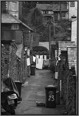 Real Windermere (Dai Jazz) Tags: candid lakedistrict streetphotography washing backlane bowness canon7d