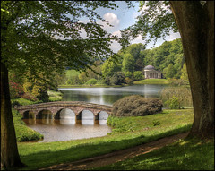In the frame, Stourhead, Wiltshire (alanhitchcock49) Tags: may national stourhead 25 trust wiltshire 2013