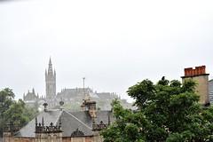 Glaswegian Rooftops (Oliver MK) Tags: scotland rooftops glasgow rain city bird university glaswegian d5500 nikon