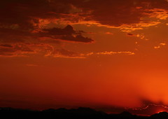 Sunset 6 28 16 #19 (Az Skies Photography) Tags: sun set sunset dusk twilight nightfall cloud clouds sky skyline skyscape scottsdale arizona az scottsdaleaz june 28 2016 june282016 62816 6282016 orange yellow gold golden salmon black
