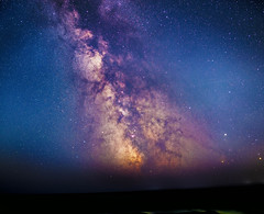 Milky Way, 15minute total exposure. (Landscapeaddict) Tags: milkyway astrophotography astronomy stars space nature nikond610 samyang 24mm wexford ireland discoverireland