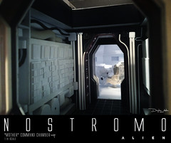 NOSTROMO-MOTHER-CHAMBER-21 (sith_fire30) Tags: alien nostromo scratchbuilding model building sheet styrene diorama prometheus covenant narcissus shuttle ripley rildley scott mother muthur6000 sithfire30 dayton allen custom action figure