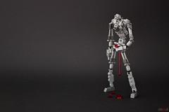 Soul (Devid VII) Tags: mecha devid devidvii drone details robot soul mech disturbing creepy black blood lego moc art