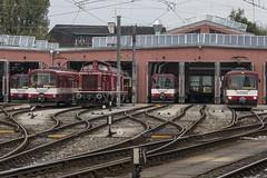 Salzburger Lokalbahn - Remise (NIKON D7200) Tags: slb salzburgerlokalbahn salzburg lokalbahn sbahn