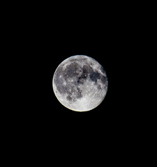 Bright side of the moon (Peter Leigh50) Tags: moon hand held