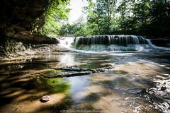 Quarry Rock Falls (jomak14) Tags: bwnd10xfilter canoneos1ds daytimelongexposure fullframe ohio quarryrockfalls tokina1935mm waterfall tokinaaf1935mmf3545