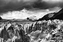 The Kingdom of Ice (Petricor Photography) Tags: black white blackandwhite mountains landscape lands argentina elcalafate ice glacier canonpersonalconnection clouds cloudscape cloudy perito moreno
