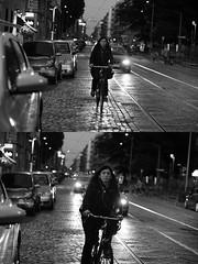 [La Mia Citt][Pedala] (Urca) Tags: milano italia 2016 bicicletta pedalare ciclista ritrattostradale portrait dittico bicycle bike biancoenero blackandwhite bn bw nikondigitale mir 889120