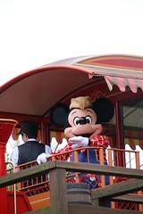 Mickey on the railroad (sidonald) Tags: westernriverrailroad tokyo disney tokyodisneyland tdl tokyodisneyresort tdr mickeymouse mickey