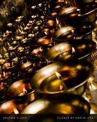 The Gleaming Infinite (ikartik90) Tags: travel portrait india diya hope religion buddhism lamayuru monastry faith belief temple array row
