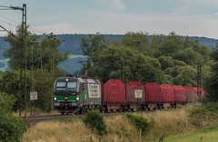 2393_2016_07_10_Haunetal_Unterhaun_ELOC_6193_ECCO_RAIL_mit_leeren_Rnoos_Bad_Hersfeld (ruhrpott.sprinter) Tags: ruhrpott sprinter deutschland germany nrw ruhrgebiet gelsenkirchen lokomotive locomotives eisenbahn railroad zug train rail reisezug passenger gter cargo freight fret diesel ellok hessen haunetal unterhaun db cancantus cfla dispo eloc mrcedispolok bb rhc railpoolrpool railservices sbbc txltxlogistik txla wlb wienerlokalbahnencargo 101 120 151 152 185 193 411 415 428 1266 es64u2 es64f4 ice r5 lokzug taurus eccorail anrufschranke outdoor logo natur graffiti