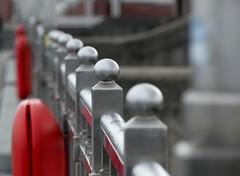 Geländer am Weserwehr (BrigitteE1) Tags: geländeramweserwehr weserwehr bremen deutschland absturzsicherung brückengeländer handrail bridgerailing fallprotection germany