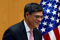 U.S.' Lew says UK authorities want time to probe pound crash (majjed2008) Tags: authorities crash need pound probe says time us