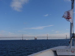 Bay Bridge; Pennant (mlcastle) Tags: california sanfrancisco sf sausalito marin