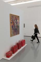 photoset: Forum Frohner: Rot Ich Weiss Rot - Kritische Kunst für Österreich (22.05 - 06.11.2016)