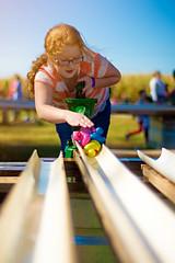 Duck Pump (Photography by XO) Tags: child toys girl littlegirl ginger fun pumpkinpatch longhair redhair glasses cute pretty game water ducks waterpump