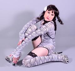 95Q1L (klarissakrass) Tags: stockings heels crossplay