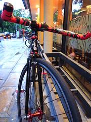 fixedgear (funkyruru) Tags: bike pista raleigh rushhour cycle fixedgear fixie trackbike