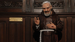 St Pio of Pietrelcina (Lawrence OP) Tags: padrepio saints lille cathedral piusofpietrelcina stigmata statue capuchin franciscan