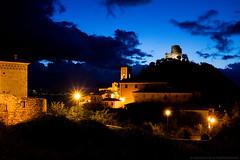 Rocca San Felice (angelocesta) Tags: irpinia rocca san felice castello borgo italia italiano campania notte blu luci nikon nikonitalia