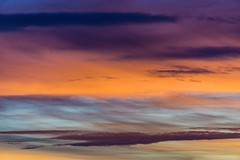 Abstract sunset clouds ((Jessica)) Tags: tufts colorful orange pw tuftsuniversity tuftslibraryroof massachusetts sunset somerville colors boston clouds medford sky wow