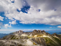 As far as clouds can go (Huub wolfs photography) Tags: natuur nature omd olympus landscape italy altoadige sudtirol mountains dolomites dolomitis landscapes skies bergen wolken