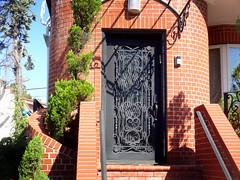 City Architecture. Iron Work (dimaruss34) Tags: newyork brooklyn dmitriyfomenko image house summer manhattanbeach ironwork fence gate door screen