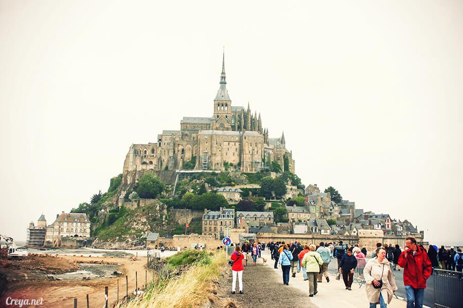 2016.09.25 ▐ 看我的歐行腿▐ 法國巴黎聖米歇爾山,原來腦子有洞是這樣來的 06