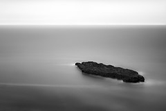 Pacific Carrier (StefanB) Tags: 1235mm 2016 bw california coast em5 geotag hwy1 longexposure monochrome outdoor pacific sea seascape horizon