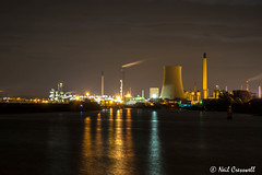 286/366 Stanlow At Night (crezzy1976) Tags: nikon d3300 crezzy1976 photographybyneilcresswell photoaday ellesmereport cheshire stanlow nightphotography afterdarkphotography lights 365 366challenge2016 manchestershipcanal day286 industry