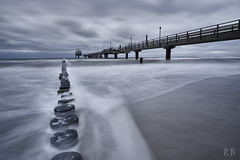 Seebrcke in Zingst / Pier in Zingst at the Baltic Sea (MrHansFromSomewhere) Tags: baltic sea seascape pier seebrcke zingst ostsee autumn water waterscape cloudsstormssunsetssunrises clouds cloudporn sony sonyimages sonyalpha sonya6000 sonyalpha6000 tokina tokinaatx1116mmf2 laea4 langzeitbelichtung longexposure landscape landschaft apsc