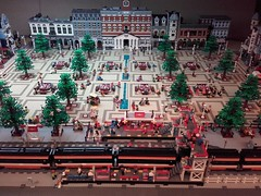 Latest update Legosjaak's Modular City Square october 2016 (Plaça Modular) (LegoSjaak) Tags: square modular plaça plein modulair stadt platz stadtmitte markt lego 2017