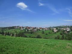 Bukowina Tatrzaska (bogdan_de_varsovie) Tags: polska poland bukowinatatrzaska wie village krajobraz landscape horyzont horizon niego sky outdoor field grassland