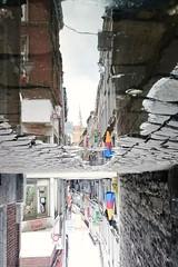 Le Carr (Lige 2016) (LiveFromLiege) Tags: lige liege luik lttich liegi lieja wallonie puddle puddlegram puddlephotography belgique belgium architecture city reflet reflection