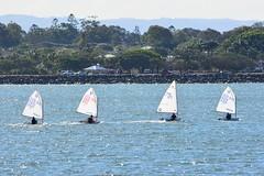 DSC_0317 (LoxPix2) Tags: loxpix queensland australia sailing catamaran trimaran nacra hobie arrow moth 505 maricat humpybongyachtclub humpybash aclass f18 mosquito laser bird spinnaker woodypoint
