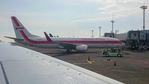Retro Garuda, Bandar Udara Internasional (DPS), 20160930